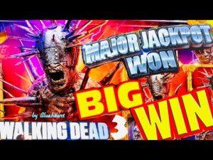 ★ novel! ★  WALKING DEAD 3 MAJOR JACKPOT as well as large WINS!