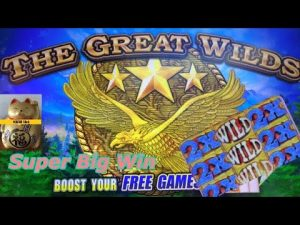 ★foremost appear ! SUPER large WIN ! SUPER POTENTIAL !★THE GREAT WILDS Slot (KONAMI) Slot Play $3.00 Bet☆☆栗
