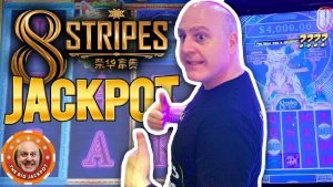 $ 22 BET $ 💥NEVER SEEN JACKPOT! 💥Min 1. Grousse WIN op 8 Stripes Slot Machine! 🎰