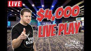 $4,000 Live Slot Play from Cadillac Jack's inward Deadwood! –  $$ Winning casino bonus Session $$