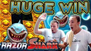 Amazing Bonus on Razor Shark – €5 Bet!