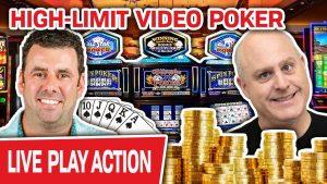 🔴 BONUS: VISOKO vezani Video Poker UŽIVO 🃏 Kevin se pridružuje meni za veliku potrošnju bonusa u kasinu