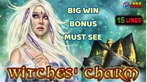 BONUS WITCHES CHARM large WIN