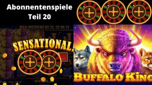 Bufallo manful individual monarch large Win! / Online casino bonus Deutsch / Teil 20 (2020)