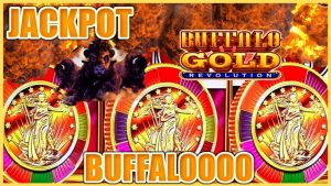 ⭐️Buffalo atomic number 79 Revolution HANDPAY JACKPOT ⭐️HIGH boundary $22.50 BONUS circular Slot Machine casino bonus ⭐️