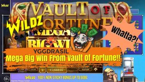 Chair Wins large!! Mega large Win From Vault Of Fortune!!