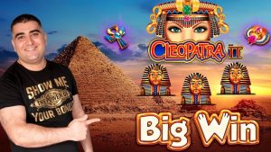 Cleopatra 2 Slot Machine large Win w/ Max Bet Bonus – Amazing Comeback | Dancing Drums EXPLOSION Slot
