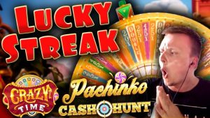 Crazy Time Bonus Compilation – Cash Hunt, Pachinko as well as Crazy Time large win!