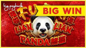 RETRIGGERI I DYT! Fu Dai Lian Lian Panda Slot - WIN BONUS i madh!