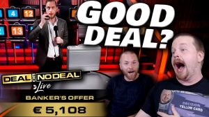 Deal or No Deal large WIN!