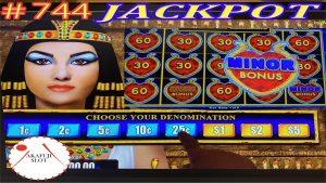 Dollar tempest EGYPTIAN JEWELS Slot Machine/ Handpay Jackpot/ modest Bonus Huge Win @San Manuel 赤富士スロット