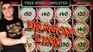 Dragon Link fountain FESTIVAL Slot Machine Bonus & large WIN | flavour-2 | EPISODE #5