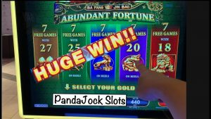 From at nowadays on, I'm picking this inward the bonus! Huge win on Abundant Fortune, Ba Fang Jin Bao