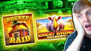 Great rhinoceros Megaways large WIN & Bounty Raid Slot WIN as well as to a greater extent than SLOTS !