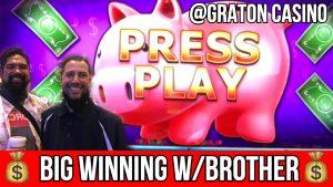UHUGE WIN ON PIGGY BANKIN '@ Graton casino bonus | NorCal spilakassi