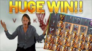 ชนะมาก !!! Vikings large WIN - เกมโบนัสคาสิโนจาก Casinodaddys live flow