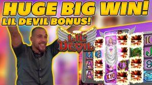 HUGE WIN on LIL DEVIL NORMAL BONUS! INSANE WIN on 5€ STAKE!