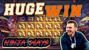 在忍者之路老虎机游戏中获得巨大胜利-4英镑下注