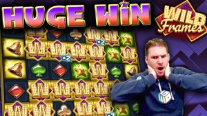 HUGE WIN on Wild Frames Slot – £7 Bet