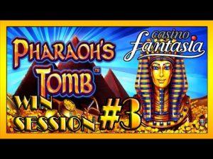 HUUUGE MEGA large WIN| (3/3) casino bonus Fantasia Session- PHARAO´s TOMB auf $1.50/ $2/ $3 und $4