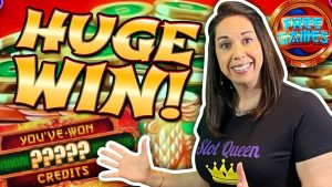 I landed a HUGE WIN on mighty cash ! Slot hubby pushed my buttons !!