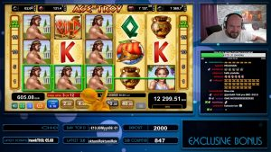 INSANE WIN!! AGE OF TROY SLOT GIVES MEGA large WIN!!