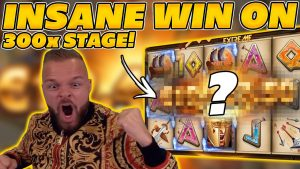 INSANE large WIN on 300 SHIELDS EXTREME! 300x STAGE WITH WILDS! large WIN on Online Slots!
