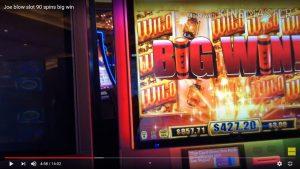 Joe blow slot 90 spins large win