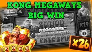 Kong MEGAWAYS! multiplicator mare / mare Câștigă !!