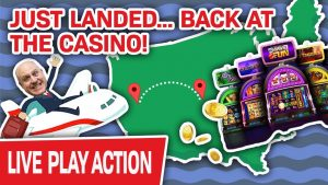 🔴 LIVE ane time to a greater extent than?!! ✈️ Just Landed & dorsum AT THE casino bonus for to a greater extent than Huge Jackpots!