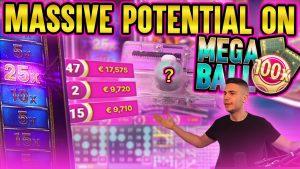 MEGA BALL HITTING WITH MASSIVE POTENTIAL | WINNING ON ONLINE casino bonus LIVE GAMES
