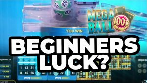 MEGA BALL – THE first of all TIME I PLAYED IT (LIVE casino bonus large WIN)