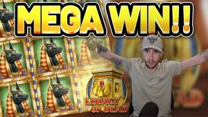 MEGA WIN! LEGACY OF DEAD large WIN – casino bonus Slot from Casinodaddys live flow