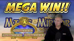 MEGA WIN! MAGIC MIRROR DELUXE 2 large WIN - Bonus casinò online di Casinodaddys live