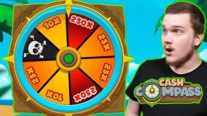 MEGA large WIN ON CASH COMPASS (Hacksaw Gaming)