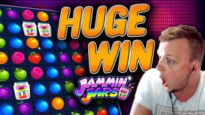 MEGA large WIN on Jammin Jars!