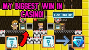 MY BIGGEST WIN inward casino bonus | *non CLICKBAIT* | Growtopia