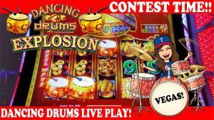 Max Bet Dancing Drums Explosion Slot Machine Live Play! 🥁 large Wins! 💰💰Las Vegas!