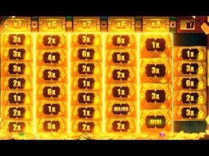 Mega large Win Aztec atomic number 79  Megaways Slot