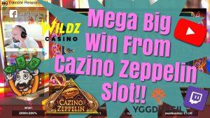 Mega velik Win od Cazino Zeppelin Slot !!