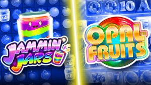 Opal Fruits, Jammin Jars,  Reactoonz as well as to a greater extent than SLOTS !