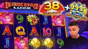 PEKING LUCK MAX SPINS | large WIN ON PRAGMATIC PLAY ONLINE SLOT MACHINE
