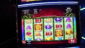 Penny Slots large Win at Winstar World casino bonus