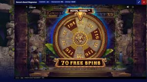 Qonzo´s Quest Megaways. Gambling 70 spins as well as large win!
