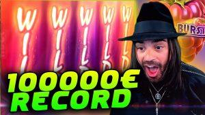 ROSHTEIN 100.000€ total cover tape WIN \ TOP 5 WINS OF calendar week