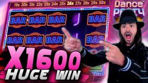 Roshtein böyük WIN daxili lite fantastik ucu siyasi partiyası Slot X1600   Top Wins Money inkişaf edir, Jammin Jars, Ölülərin həcmi