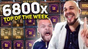 🔥STREAMER acquire 6800x! / Top 5 casino bonus BIGGEST WINS of the calendar week! / 2020 July #1