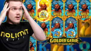SUPER MEGA large WIN ON GOLDEN GENIE as well as THE WALKING WILDS (Nolimit metropolis)
