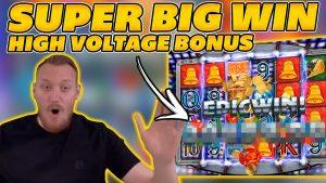 SUPER large WIN on DANGER! HIGH VOLTAGE! HIGH VOLTAGE meliorate THAN GATES? large WIN on Online Slots!