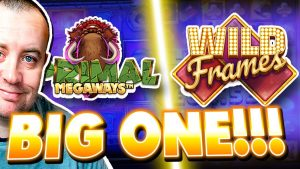 SUPER large WIN on Wild Frames , Primal Megaways as well as Slots !